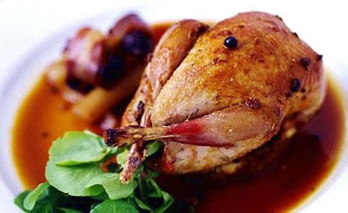 کبک سوخاری؛ غذای مجلسی برای میهمانی ها