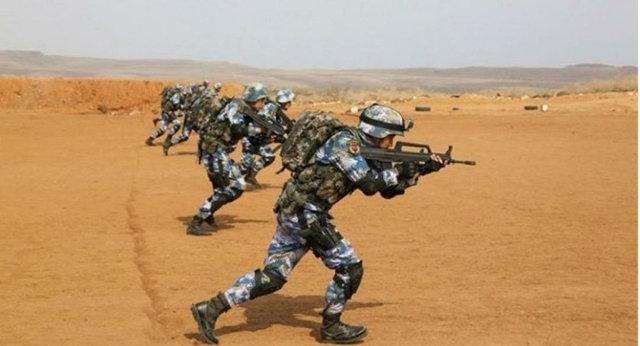 مانور نظامی چین در شاخ آفریقا (+عکس)