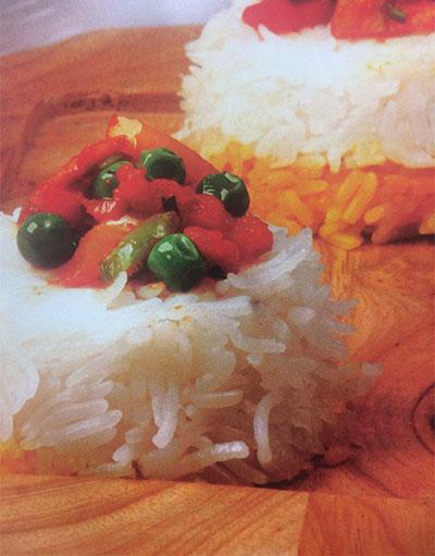 طرز تهیه پلو با خوراک سبزیجات!