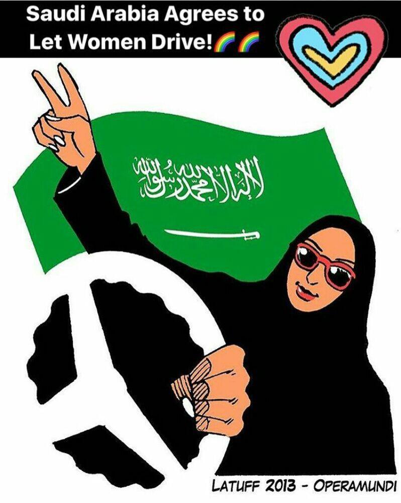 آزادی رانندگی زنان سعودی، آغاز عصر جدید در عربستان