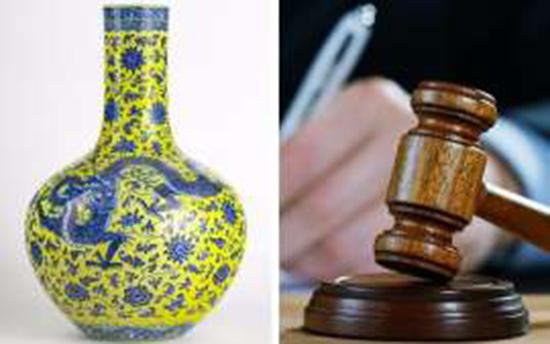 گلدان چینی 10 برابر قیمت فروخته شد (+عکس)
