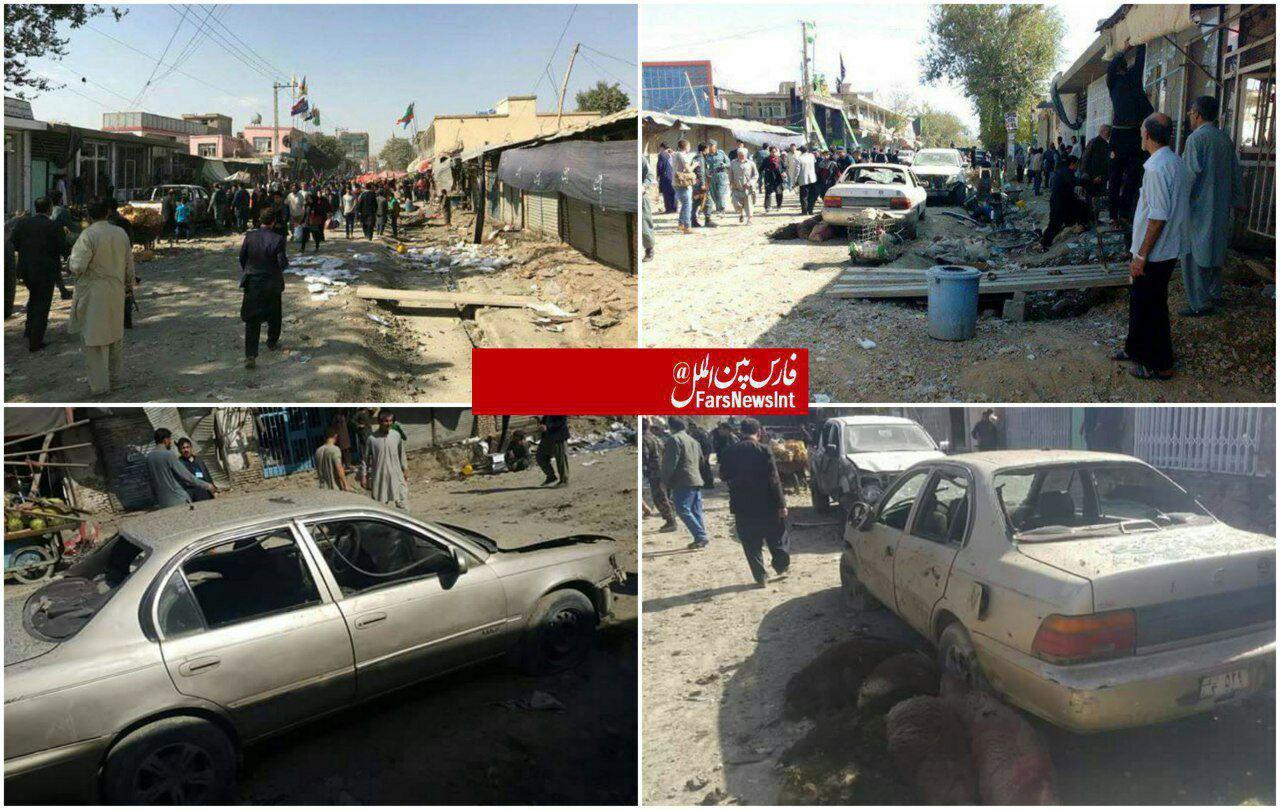 انفجار انتحاری در کابل با 5 کشته و 20 زخمی (+عکس)