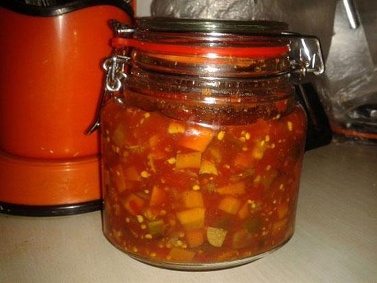 ترشی لیته گوجه فرنگی