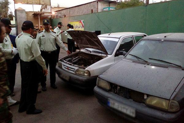 استفاده از خانم باردار در باند سرقت خودرو/ ۶ نفر دستگیر شدند