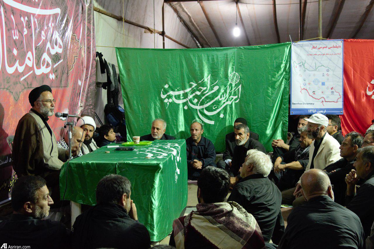 برگزاری مراسم یادواره شهدای مدافع حرم و شهدای دیپلمات وزارت امور خارجه در کربلا (+عکس)