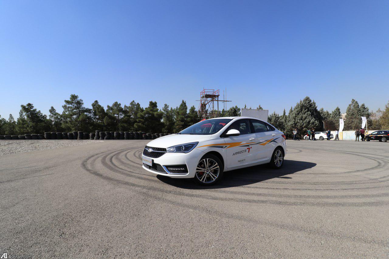 تست درایو خودروی توربوشارژ چری توسط کارشناسان عصر ایران//آریزو 5، پرآپشن، قدرتمند و مناسب حرکت شهری