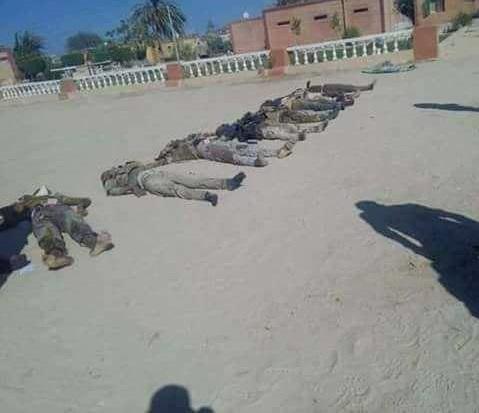 غافلگیری داعش در مصر (+عکس)