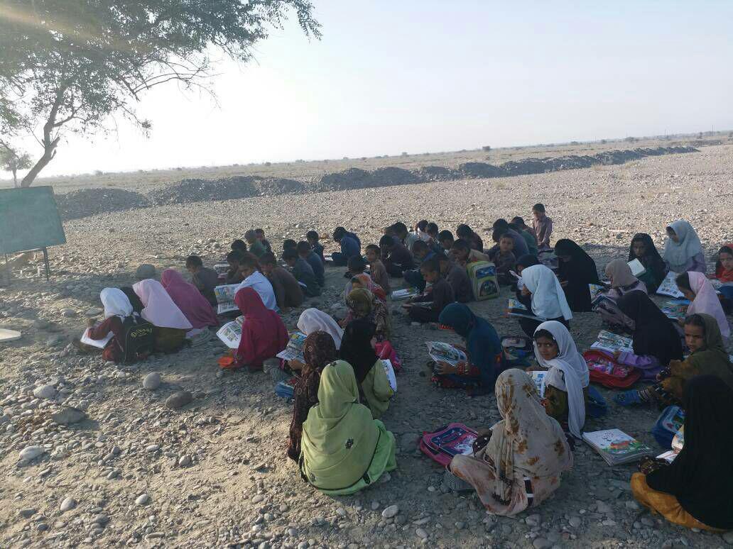 مدرسهای با امکانات ویژه در زرآباد سیستان (عکس)