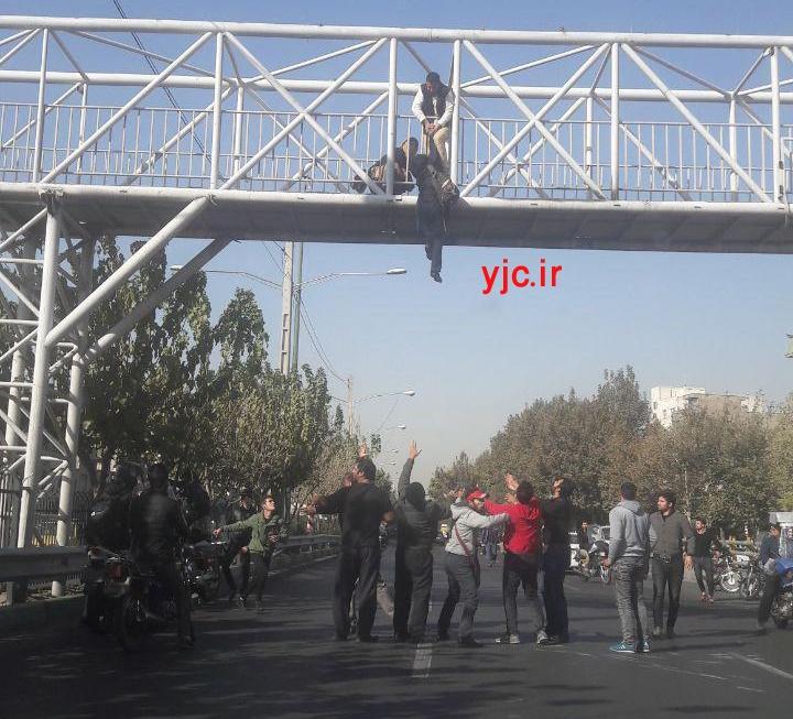 خودکشی نافرجام دختر جوان در تهران (عکس)