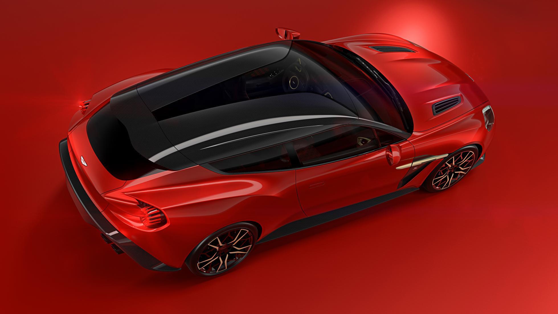 خودرویی که 99 دستگاه از آن ساخته می شود/شوتینگ بریک استون مارتین زاگاتو