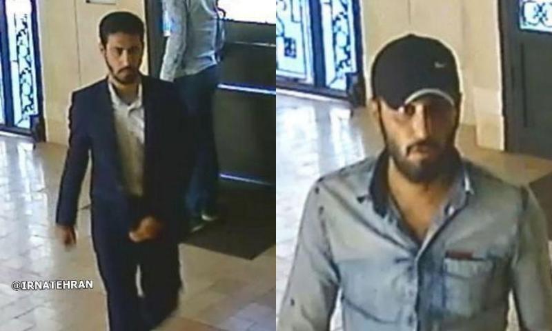 سرقت مسلحانه در تهران/ سارقان را شناسایی کنید (+عکس)