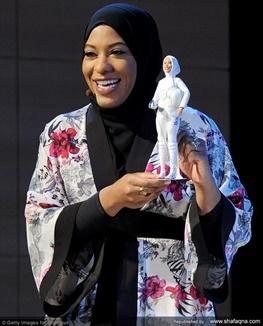 باربی نخستین عروسک محجبه را روانه بازار کرد (عکس)