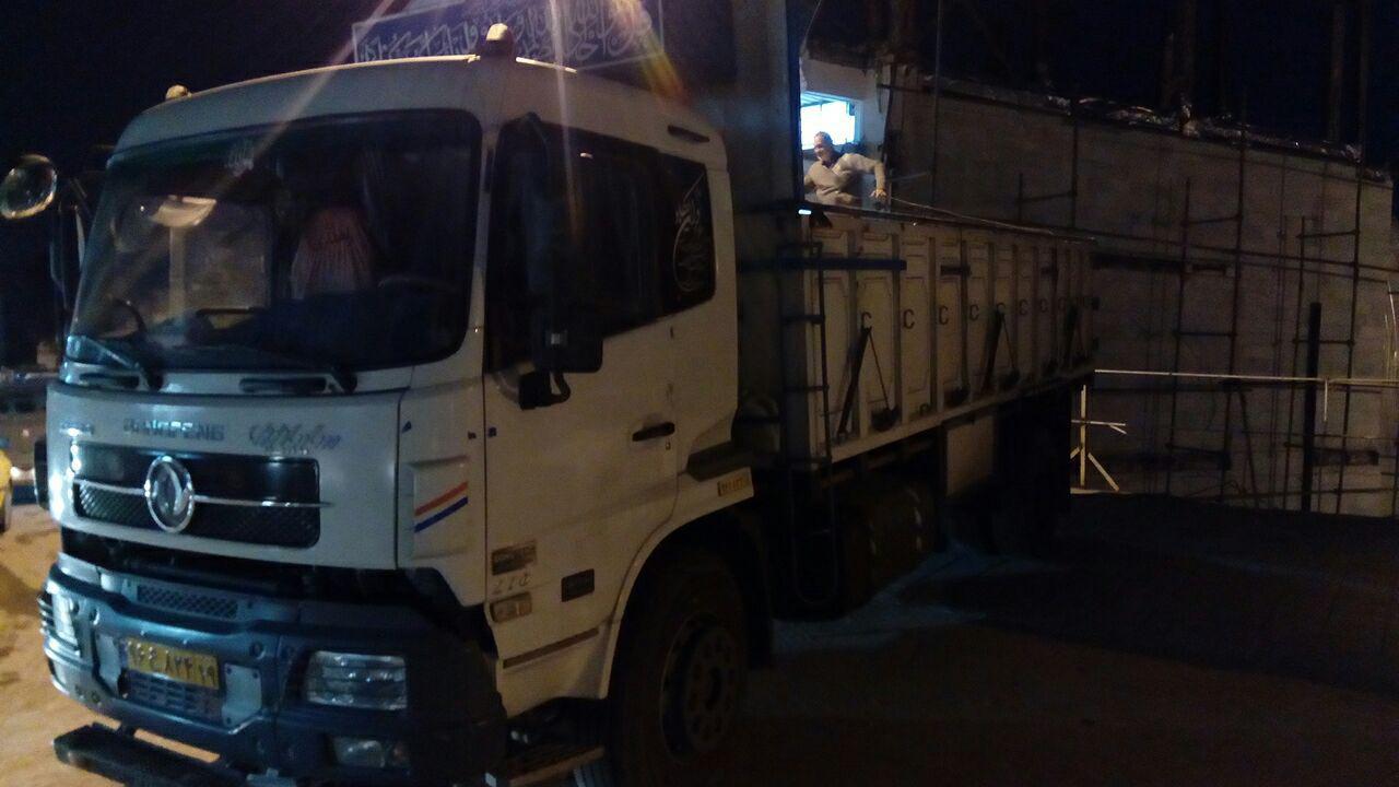 ارسال اولین محموله کمک رسانی مدیران خودرو به مناطق زلزله زده استان کرمانشاه