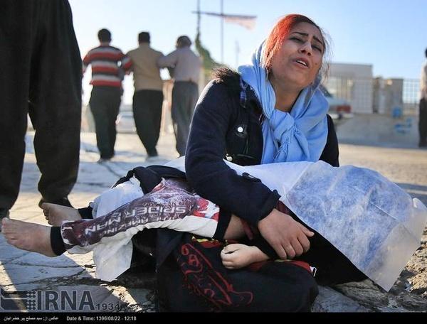 دردناکترین تصویر از زلزله کرمانشاه (عکس)
