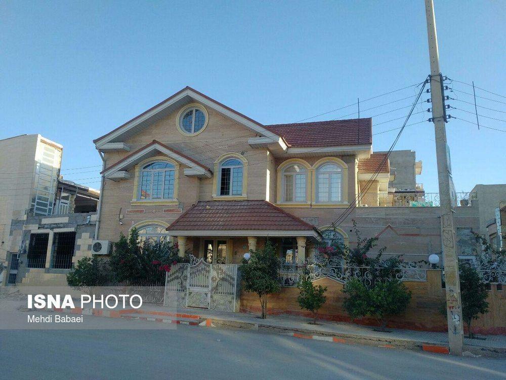 خانهای در سرپل ذهاب که زلزله تخریب اش نکرد (عکس)