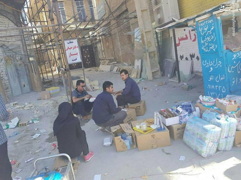 مطب خیابانی یک پزشک در سرپلذهاب (عکس)