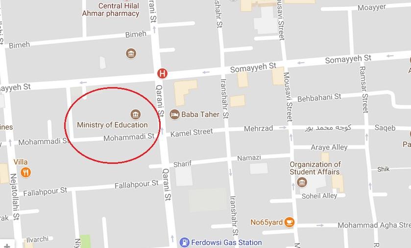 بلبشو در کرمانشاه، متهم در خیابان قرنی تهران