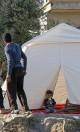 چادر تأمین شد، حالا خانه میخواهیم
