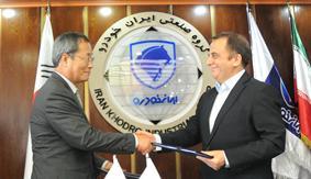 امضای قرار داد جدید ایران خودرو و هیوندای (+عکس)