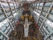 شاتل فضایی شوروی در قزاقستان خاک میخورد (+فیلم)