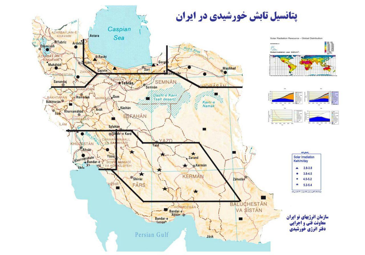 فرصت انرژی خورشیدی برای ایران و مشکلات بخش خصوصی