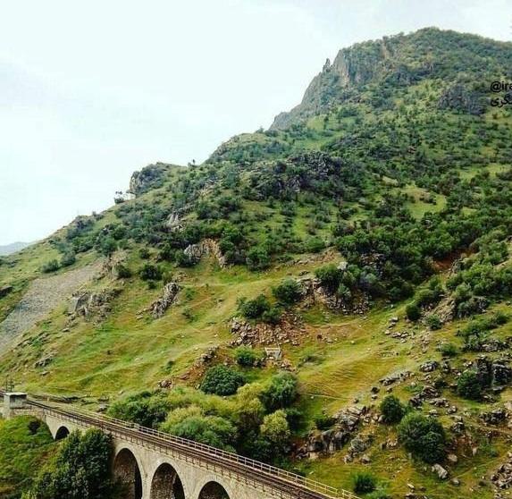 پل راهآهن بیشه لرستان (عکس)