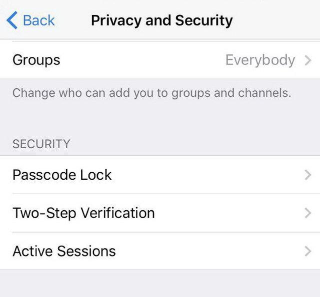 چطور دسترسی دستگاهها به تلگرام را ببندیم؟