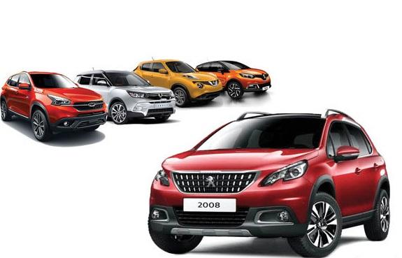 پژو 2008 رقیب چه خودروهایی خواهد بود؟