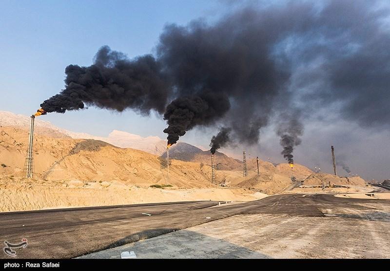 عسلویه، کوه طلا در کنار کوه آلودگی