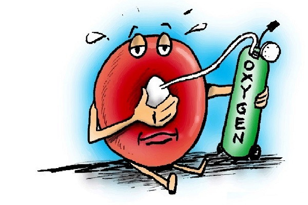 از نشانههای هشداردهنده کمبود اکسیژن در خون