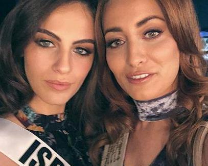 سلفی ملکه زیبایی عراق و اسرائیل خبرساز شد (+عکس) / ملکه عراق عذرخواهی کرد