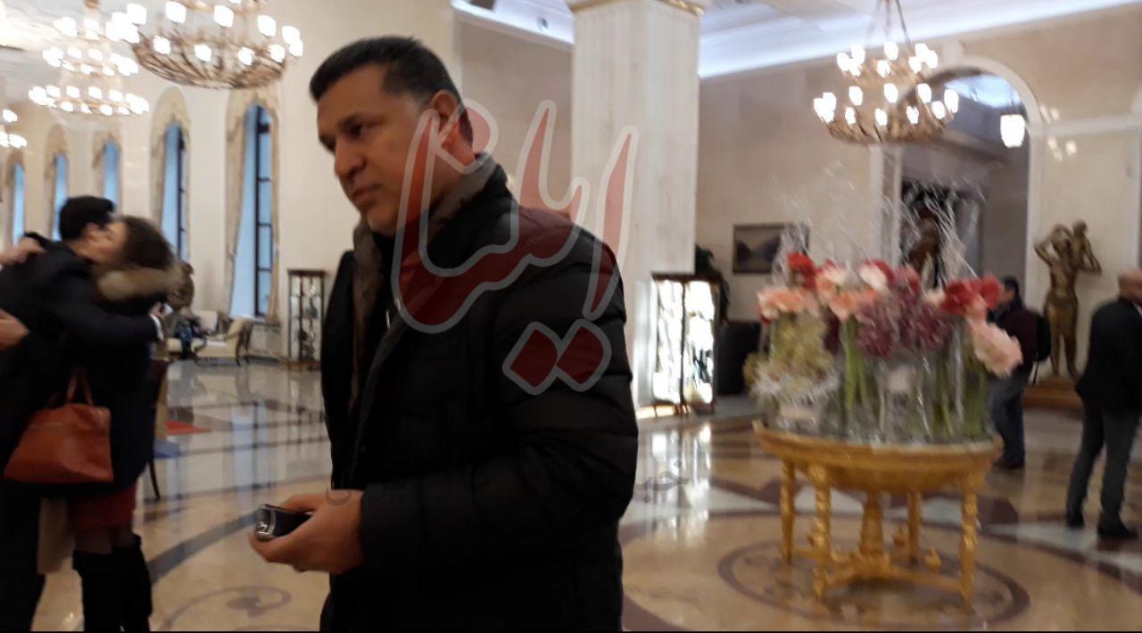 علی دایی وارد کاخ کرملین شد (+عکس)