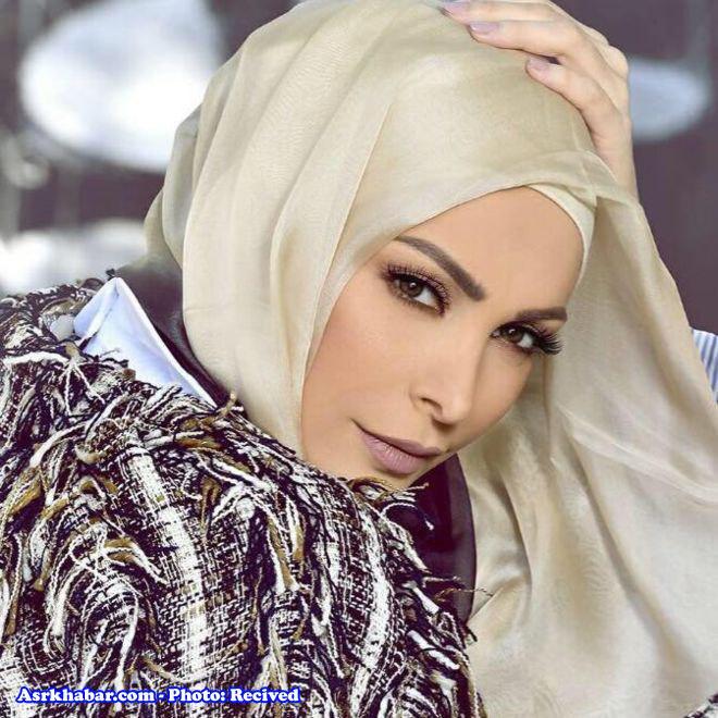 امل حجازی خواننده معروف لبنانی محجبه شد (+عکس)