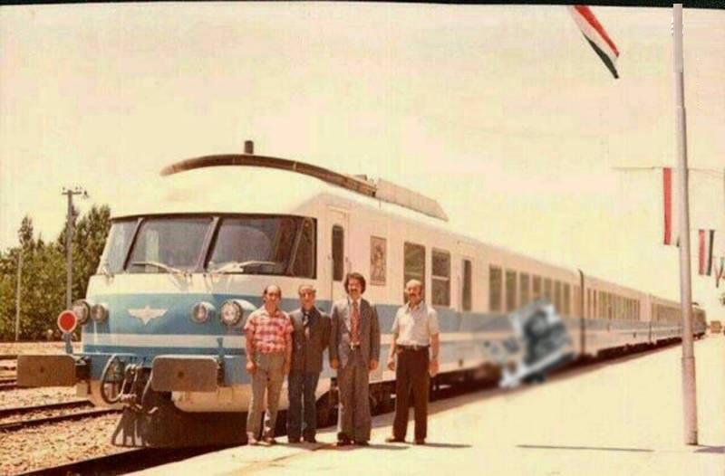 اولین قطار مسافری سریع السیر در ایران (عکس)