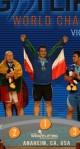 ایران قهرمان وزنه برداری جهان در آمریکا شد (+جدول)