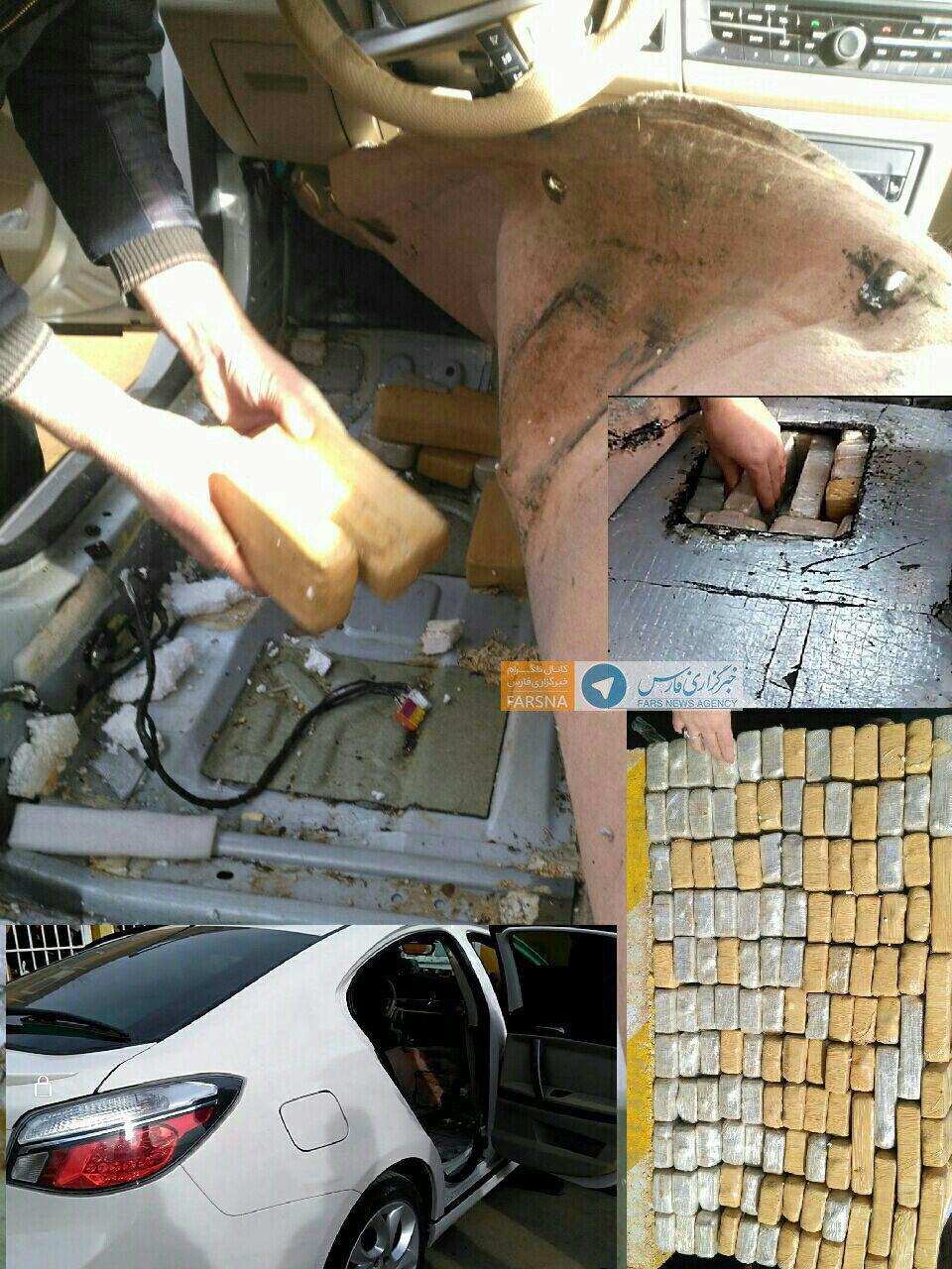 انهدام یک باند بزرگ قاچاق هروئین توسط ماموران (عکس)