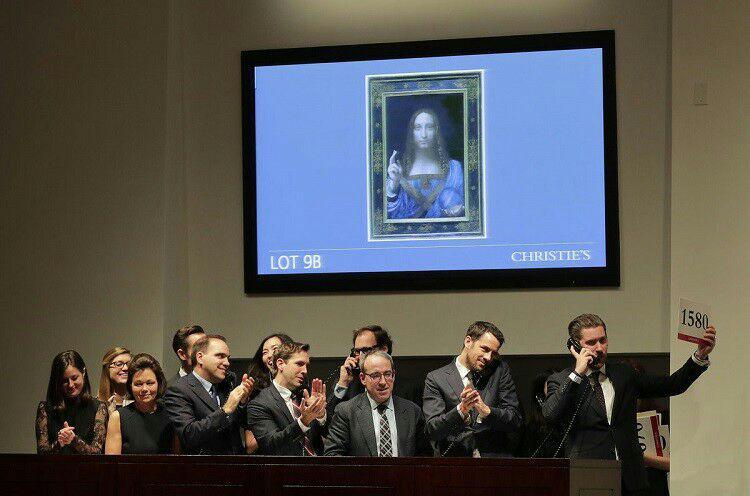 وال استریت ژورنال: ولیعهد سعودی، خریدار گرانترین نقاشی جهان