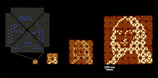 ساخت کوچک ترین تابلوی مونالیزای جهان با DNA (عکس)
