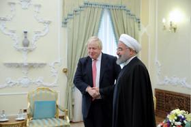 دیدار وزیر خارجه انگلیس با رییسجمهور