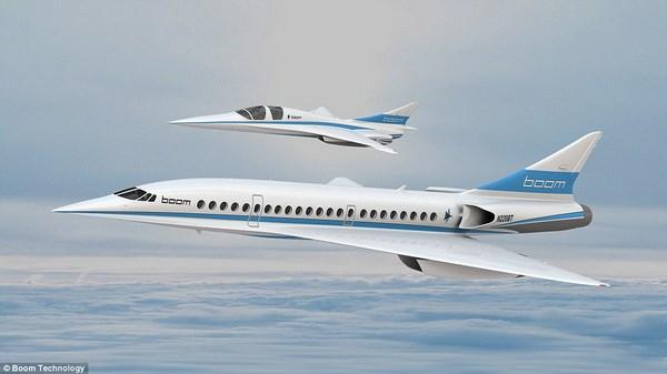 هواپیمای مسافربری مافوق صوت Boom (+ عکس)