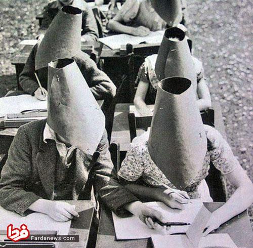 کلاه ضد تقلب در زمان قدیم (عکس)