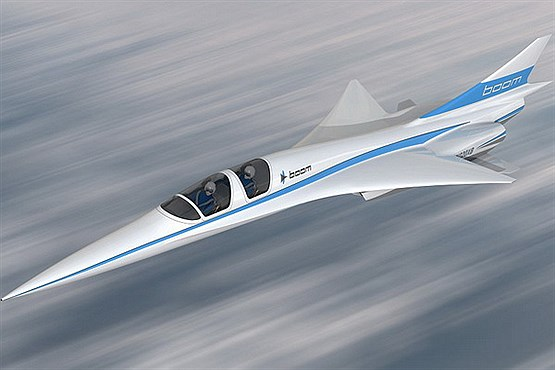هواپیمای مسافربری مافوق صوت Boom (+عکس)