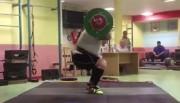 مهار وزنه 260کیلویی توسط بهداد سلیمی (فیلم)