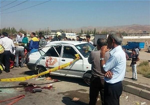 5 کشته و 3 مصدوم در تصادف خاور با پراید (+عکس)