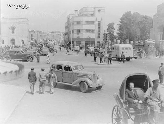 میدان توپخانه در سال 1330 (عکس)