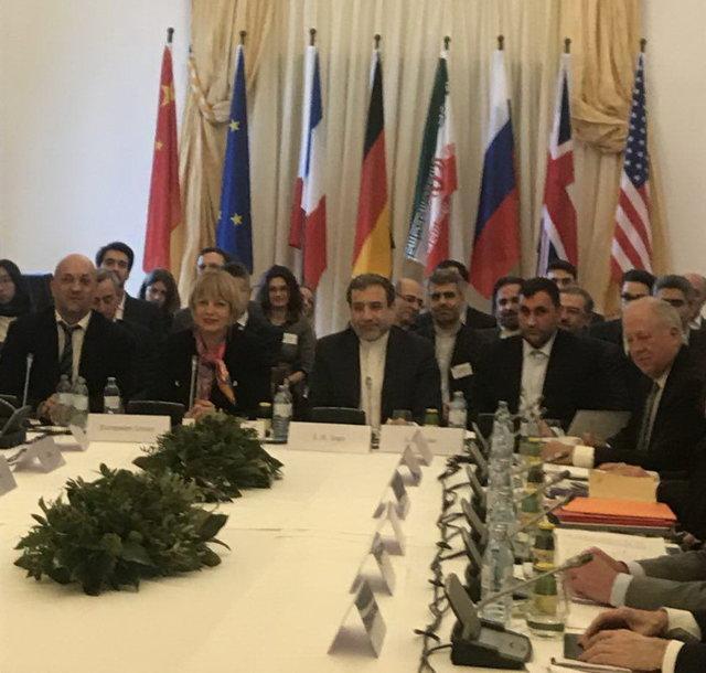 توقف جلسه کمیسیون برجام به دلیل اشتباه در نصب پرچم ایران