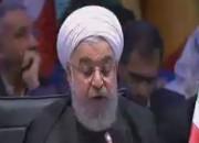 سوال روحانی در اجلاس سران کشورهای سازمان همکاری اسلامی (فیلم)