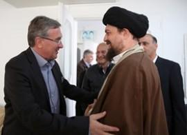 دیدار برانکو با سیدحسن خمینی