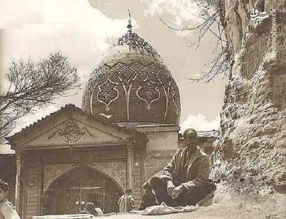 امامزاده صالح در دهه ۴۰ (عکس)