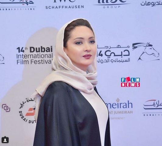 نیکی کریمی در اختتامیه جشنواره بین المللی فیلم دبی (عکس)